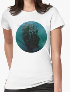 Pink Floyd Tree of Death Womens Fitted T-Shirt