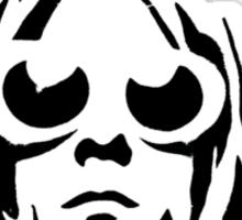 KURT COBAIN ARTWORK plain Sticker