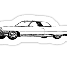 1965 Cadillac Calais Coupe Sticker