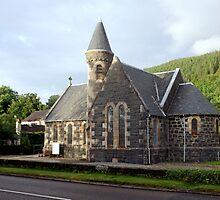 St.Modans Kirk , Benderloch , Scotland by Bill Lighterness