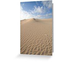 Sand Dune - South Australia Greeting Card