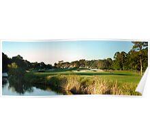 Hilton Head Golf Course Poster