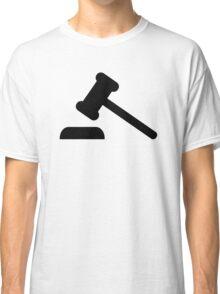 Judge hammer  Classic T-Shirt