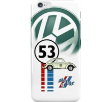 Herbie 53 THE LOVE BUG CAR VW iphone cased iPhone Case/Skin
