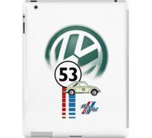 Herbie 53 THE LOVE BUG CAR VW iphone cased iPad Case/Skin