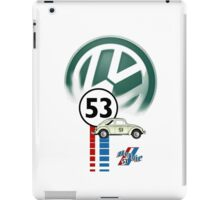 53 THE LOVE BUG CAR VW beatle iPad Case/Skin