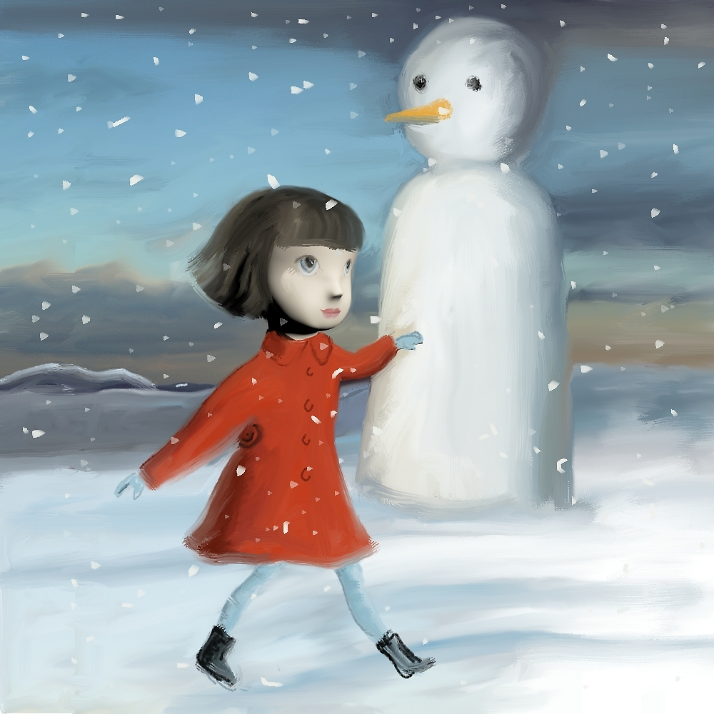 red coat by catherinelouise