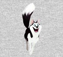 Happy Husky Womens T-Shirt