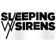 Sleeping With Sirens Logo Poster