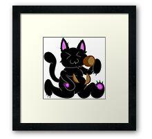 Potato Cat Framed Print