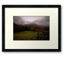 Autumn Countryside Framed Print
