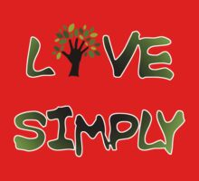 Live Simply - tree Kids Clothes