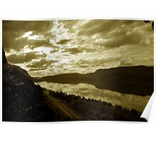 Columbia Gorge Sunset Poster