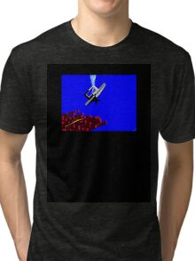 Snake Diving Tri-blend T-Shirt