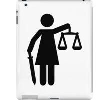 Justitia justice iPad Case/Skin