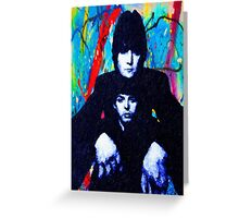 John & Paul Hands Greeting Card