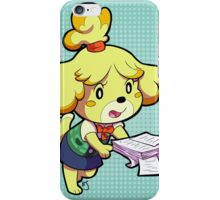 Isabelle Print iPhone Case/Skin