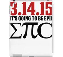 Epic Pi Day iPad Case/Skin