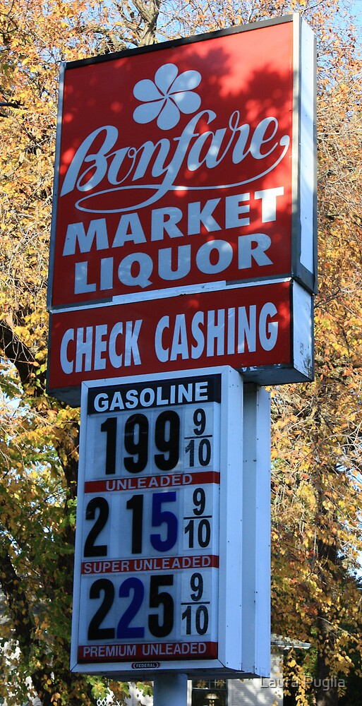 I want to remember that gas prices have declined in November 2008. by Laurie Puglia
