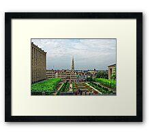 Mont des Arts, Brussels, Belgium Framed Print
