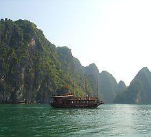 **Ha Long Bay** by Julie  Hamilton