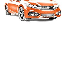 2014 Honda Civic SI Coupe by garts
