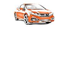 2014 Honda Civic SI Coupe Photographic Print