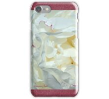 Love ~ This White Peony iPhone Case/Skin