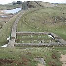 Nick Fort Ruins Hadrians Wall by Cleburnus