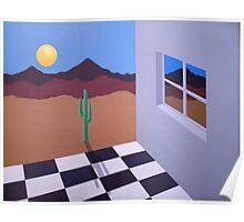 Desert Windows Poster