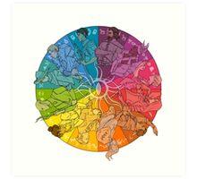The Inner Circle Art Print