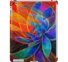 Desert Heat: Abstract Version psychedelic iPad Case/Skin