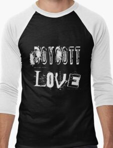 Boycott Love Men's Baseball ¾ T-Shirt