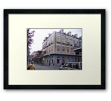 Hurricane History Building Framed Print