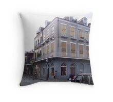 Hurricane History Building Throw Pillow