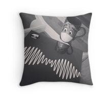Disney mugs and music Throw Pillow