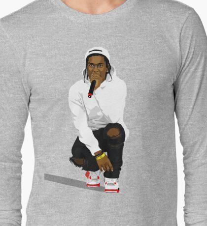 ASVP ROCKY ART Long Sleeve T-Shirt