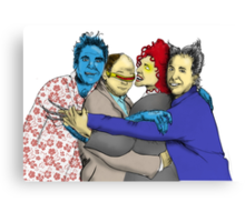 The Uncanny Seinfeld Canvas Print