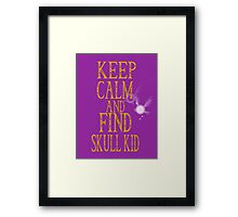Find Skullkid Framed Print