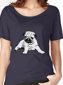 Cute Pug Women's Relaxed Fit T-Shirt