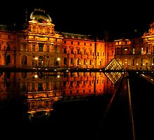 An evening in Louvre by natureloving