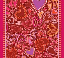 Lots of Hearts by Kathleen Dupree