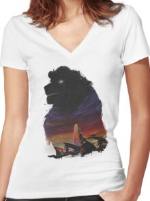 The Pride Women's Fitted V-Neck T-Shirt