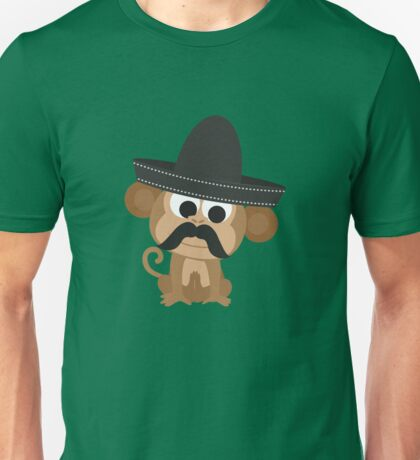 Monito Bandito Unisex T-Shirt