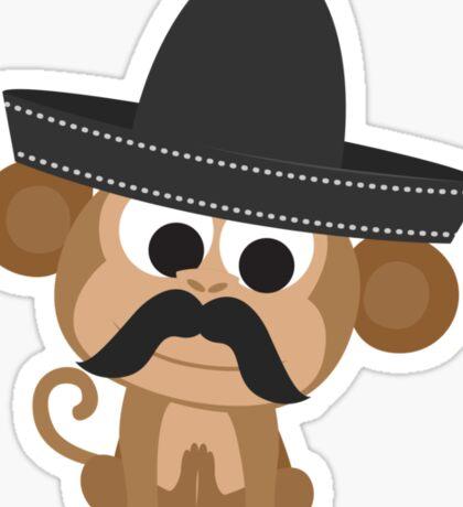 Monito Bandito Sticker