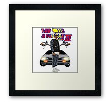 Fabolous Back To The Future III Framed Print