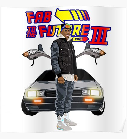 Fabolous Back To The Future III Poster