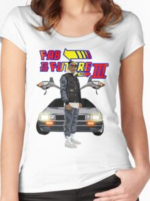 Fabolous Back To The Future III Women's Fitted Scoop T-Shirt