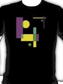 Color Blocks Purple T-Shirt