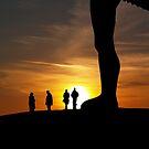 Angel Sunset by b8wsa